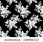 design pattern.vintage bouquet... | Shutterstock .eps vector #238986112