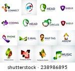 abstract company logo vector... | Shutterstock .eps vector #238986895