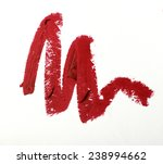 red color lipstick stroke on... | Shutterstock . vector #238994662