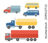 truck auto delivery transport... | Shutterstock .eps vector #239013712