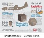transportation brochure and... | Shutterstock .eps vector #239014546