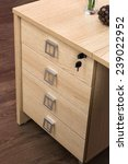 Desk Cupboard With Drawers In A ...