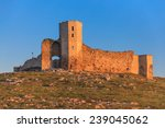 ruins of ancient enisala royal...   Shutterstock . vector #239045062