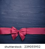 christmas background with a red ... | Shutterstock . vector #239055952