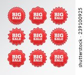 vector sale tags | Shutterstock .eps vector #239100925