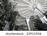sony building at potsdamer... | Shutterstock . vector #23911936
