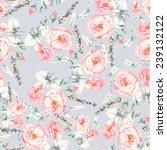 hand drawn mosaic stylized... | Shutterstock .eps vector #239132122