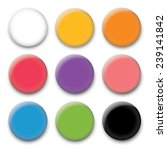 color pin magnet | Shutterstock .eps vector #239141842