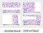 Business Cards With Lilac...