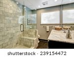 Luxury White And Grey Marble...