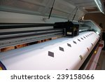 printing press   large format... | Shutterstock . vector #239158066