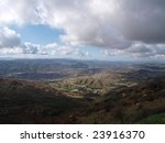 View Of Simi Valley In Dramati...