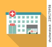 hospital building  medical icon.... | Shutterstock .eps vector #239175958
