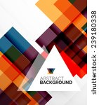 square shape abstract layouts ... | Shutterstock . vector #239180338
