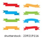color banners set.vector... | Shutterstock .eps vector #239219116