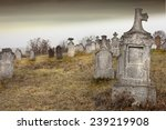 Tombstones In A Very Old...