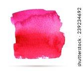watercolor pink abstract vector ... | Shutterstock .eps vector #239234692