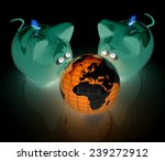 global saving  | Shutterstock . vector #239272912