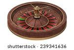 roulette wheel  isolated on... | Shutterstock . vector #239341636