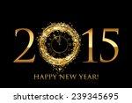 2015 happy new year background... | Shutterstock . vector #239345695