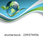 abstract environmental vector... | Shutterstock .eps vector #239374456
