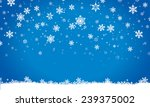 merry christmas  invitation ... | Shutterstock . vector #239375002