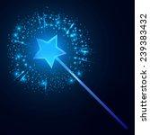 wand. vector illustration | Shutterstock .eps vector #239383432