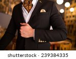 elegant smart casual outfit | Shutterstock . vector #239384335