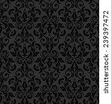 damask seamless floral pattern. ... | Shutterstock .eps vector #239397472