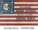 Campaign Banner For The 1860...