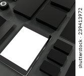 mock up business template. high ... | Shutterstock . vector #239413972