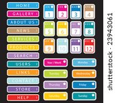 collection of vector tags | Shutterstock .eps vector #23943061