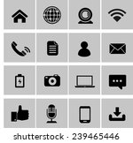 mobile phone buttons set