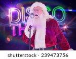 santa claus is singing... | Shutterstock . vector #239473756