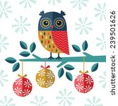 christmas card  invitation or... | Shutterstock .eps vector #239501626