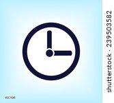 clock   Shutterstock .eps vector #239503582