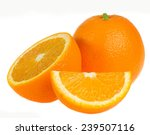 orange isolated on white... | Shutterstock . vector #239507116