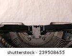 Antique Typewriter. Vintage...