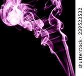 abstract color smoke on black... | Shutterstock . vector #239523532