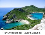 bay at corfu | Shutterstock . vector #239528656