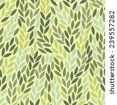 seamless leaf pattern | Shutterstock .eps vector #239557282