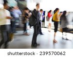 business people walking in the... | Shutterstock . vector #239570062