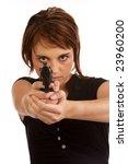 young caucasian brunette... | Shutterstock . vector #23960200