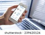 health monitoring on smart... | Shutterstock . vector #239620126