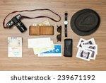 international travel background ... | Shutterstock . vector #239671192