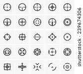 crosshairs   Shutterstock .eps vector #239674306