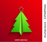 vector concept christmas tree... | Shutterstock .eps vector #239689066