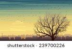 horizontal illustration of old...   Shutterstock .eps vector #239700226