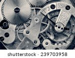 vintage clock machinery close... | Shutterstock . vector #239703958