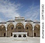 suleymaniye mosque in istanbul... | Shutterstock . vector #239738182